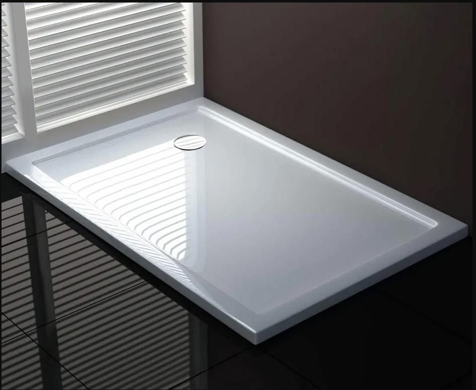 70x120 termoplastico Piatto doccia rettangolare