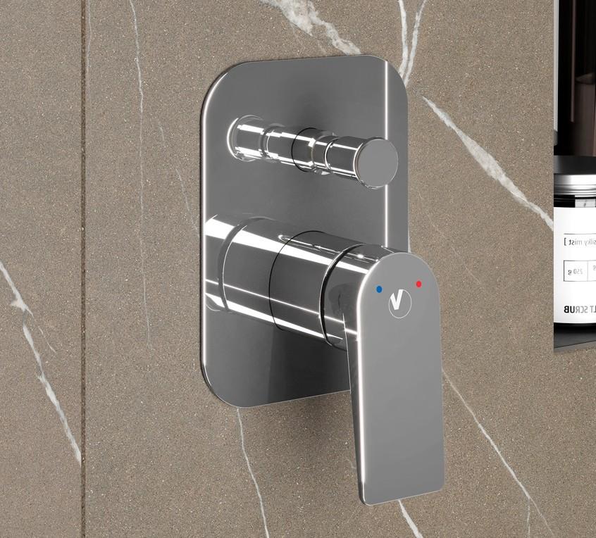 820600100 docciaincassoconDEVIATORE DECK Miscelatore Doccia Incasso con Deviatore