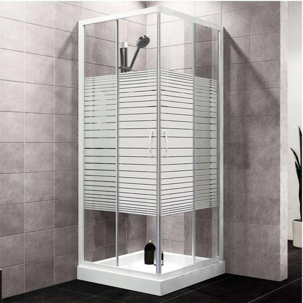 Box doccia 4 mm. Mod. 6512 chiuso Ceramashop Store Online di igienico-sanitari ed accessori per il bagno
