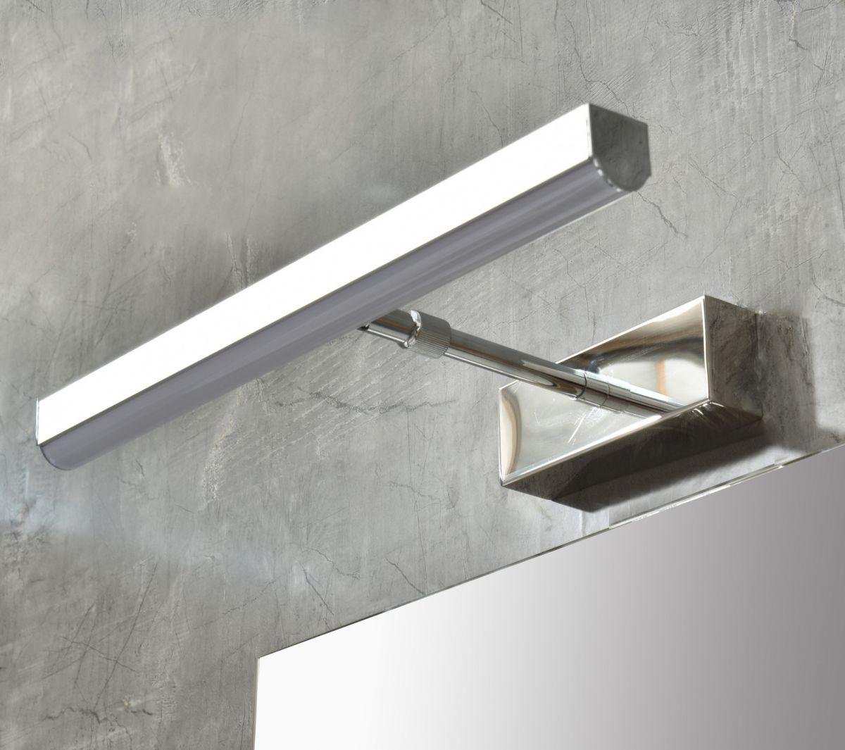 MF 1805 1M 3 Mobile bagno Praga sospeso 80 cm grigio effetto legno con lavabo,specchio e colonna pensile