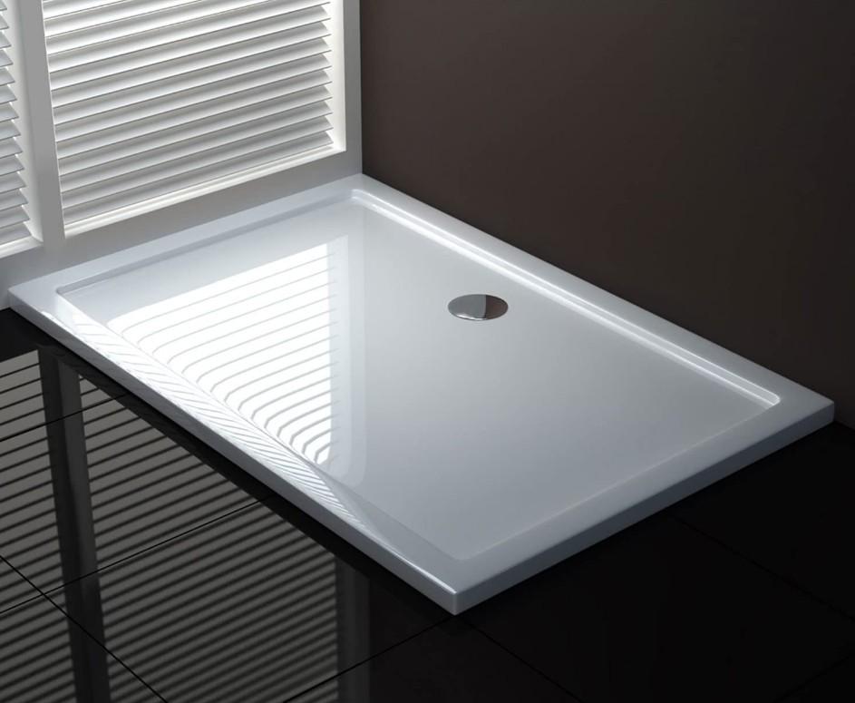 Piatto docciaABS foroCENTRALE 1 Piatto doccia rettangolare
