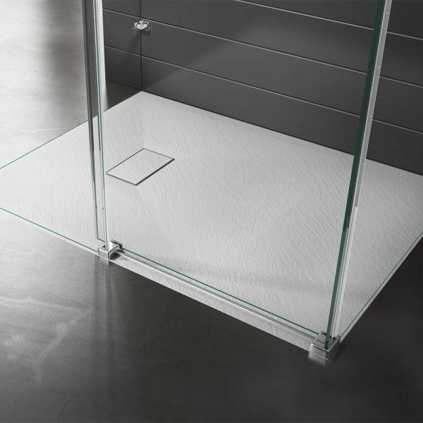 Piatto doccia effpietra bianco 2 Ceramashop Store Online di igienico-sanitari ed accessori per il bagno