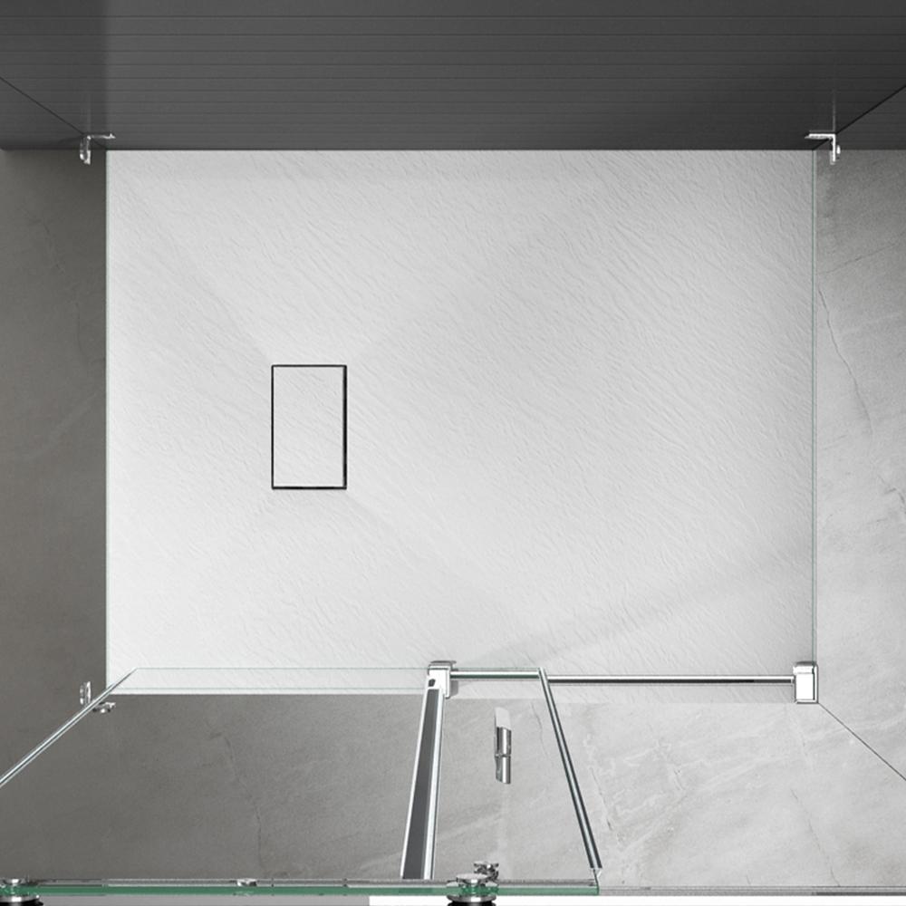 Piatto doccia effpietra bianco 5 Piatto doccia rettangolare
