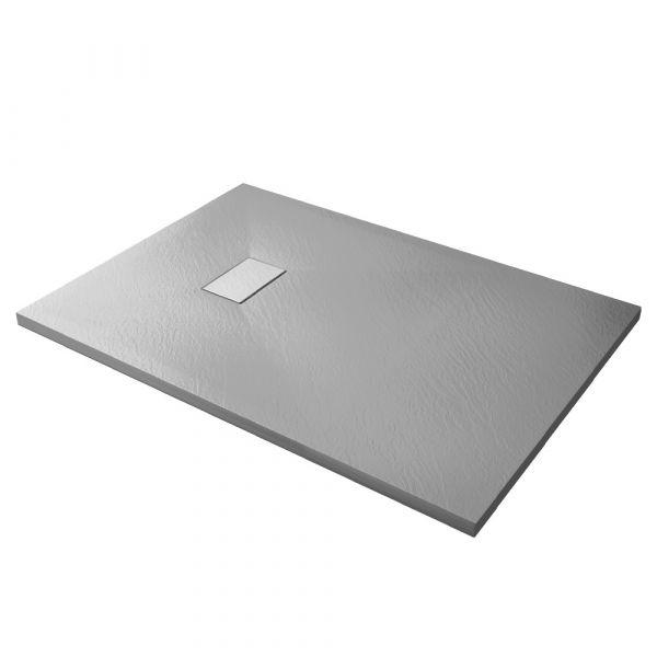 Piatto doccia effpietra grigio 1 Ceramashop Store Online di igienico-sanitari ed accessori per il bagno