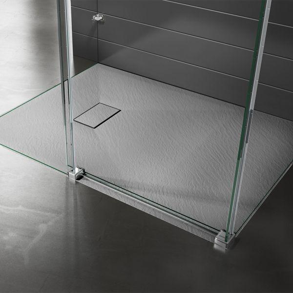 Piatto doccia effpietra grigio 2 Ceramashop Store Online di igienico-sanitari ed accessori per il bagno