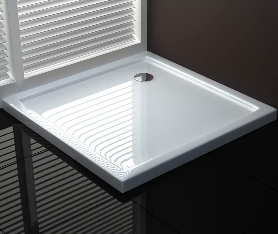 Piatto doccia fiberglass quadrato 3 Piatto doccia quadrato