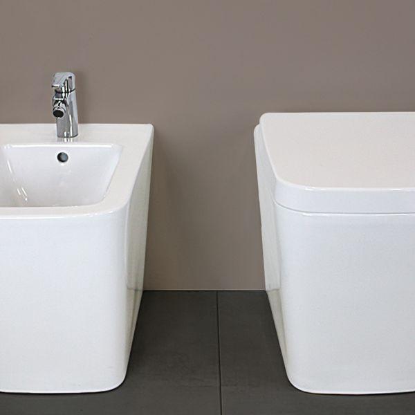SQUARE NORMAL TERRA 2 2 Offerte sanitari bagno a prezzi bassi