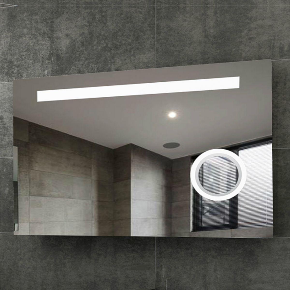Specchio led retroilluminato 60x120 cm extra big 749 692 Specchio da Bagno