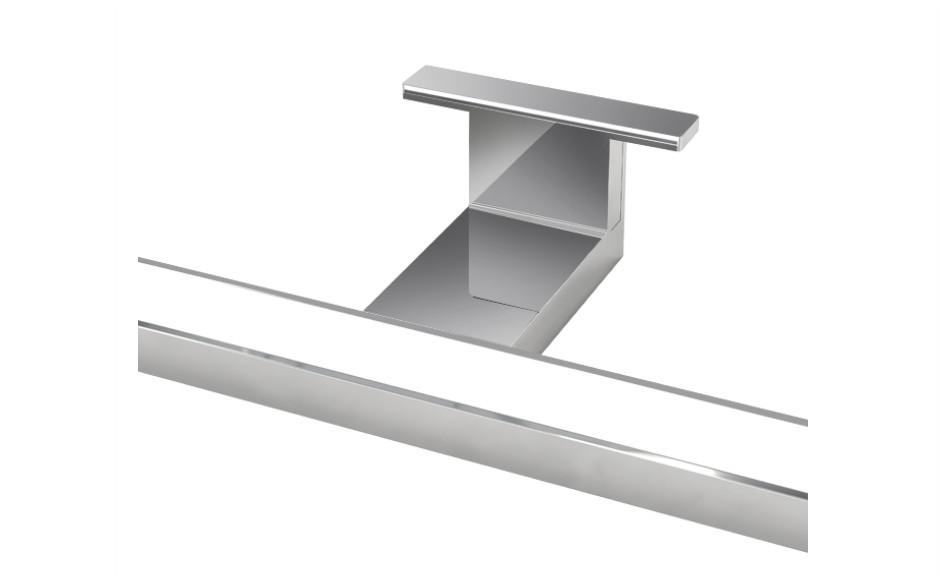 LAMPADA LED 2 Lampada bagno a LED in alluminio da 30 cm per specchio