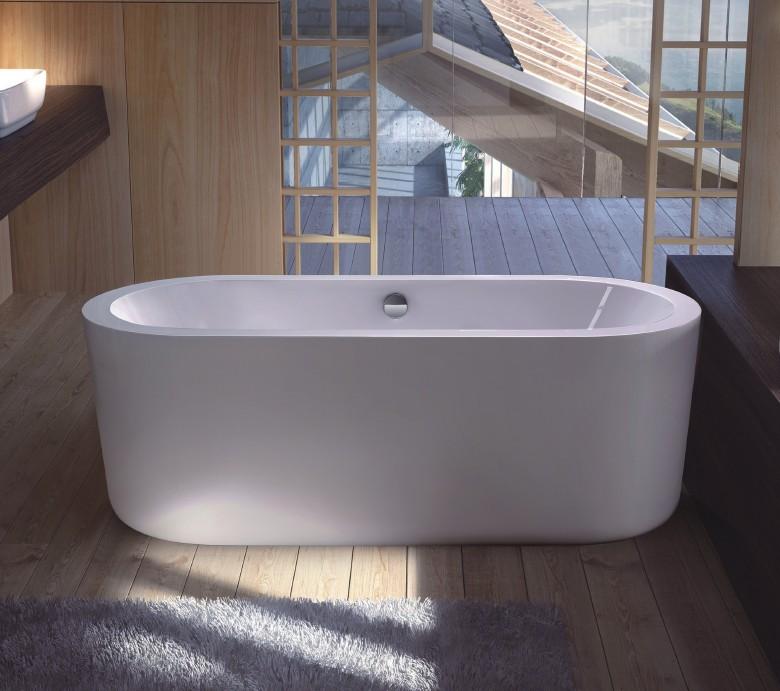 FC 305 1 Vasca da bagno in acrilico 170x80x60 cm freestanding forma ovale