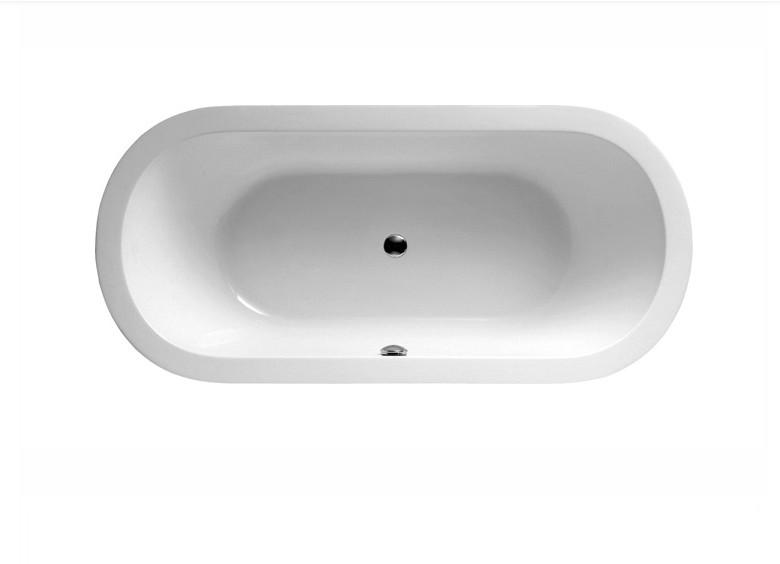 FC 305 2 Vasca da bagno in acrilico 170x80x60 cm freestanding forma ovale
