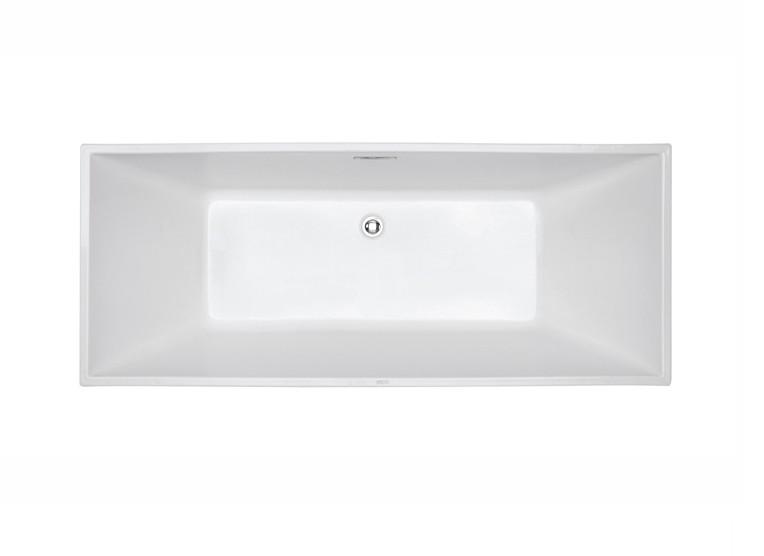 FC 334 2 Vasca da bagno in acrilico 170x70x60 cm freestanding forma rettangolare