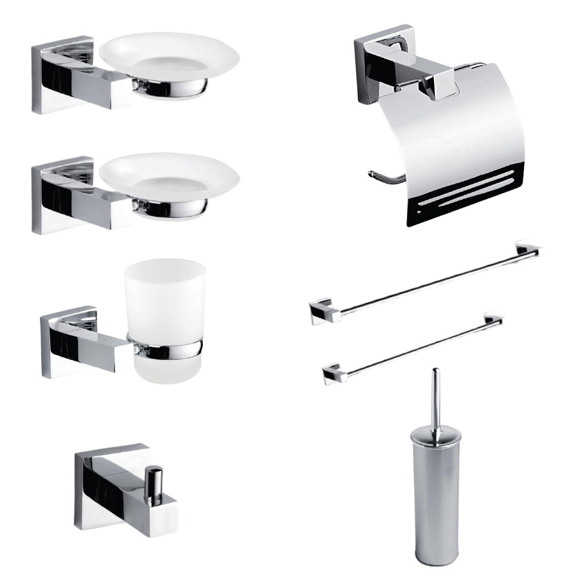 JAZZ 8 Set accessori bagno 8 pz. serie New Jazz by Etrusca