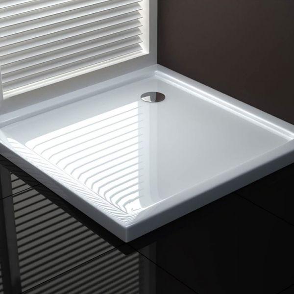 Piatto doccia fiberglass quadrato 3 Ceramashop Store Online di igienico-sanitari ed accessori per il bagno