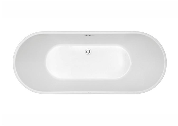 fc 335 2 Vasca da bagno in acrilico 170x70x60 cm freestanding forma tonda