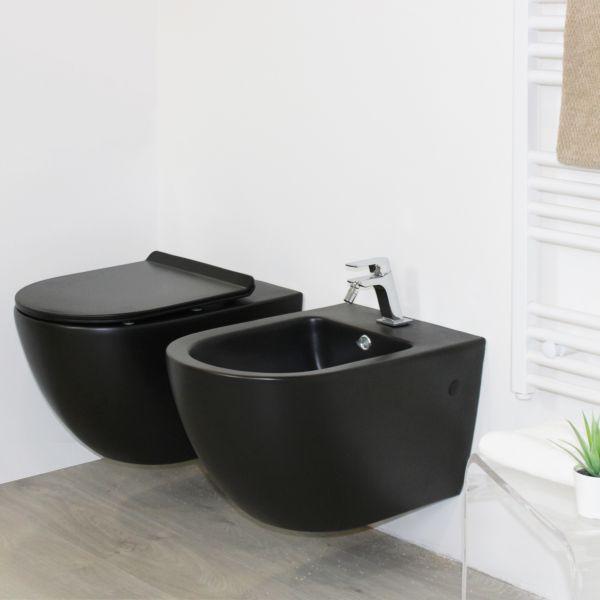 round nero sospeso 1 Ceramashop Store Online di igienico-sanitari ed accessori per il bagno