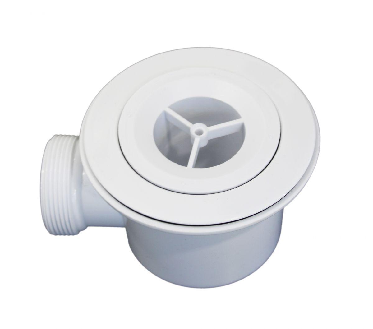 Piletta Effetto Pietra 2 Piletta di scarico da 110mm per piatti doccia effetto pietra da 2,6 cm