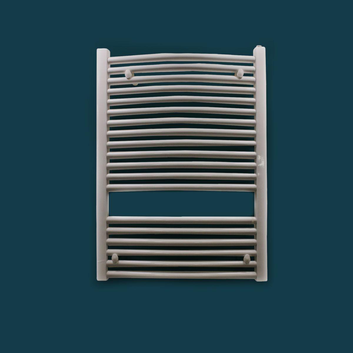 Termoarredo Mod Letta Curvo Termoarredo mod. Letta curvo 60×80 cm interasse 55 finitura bianca