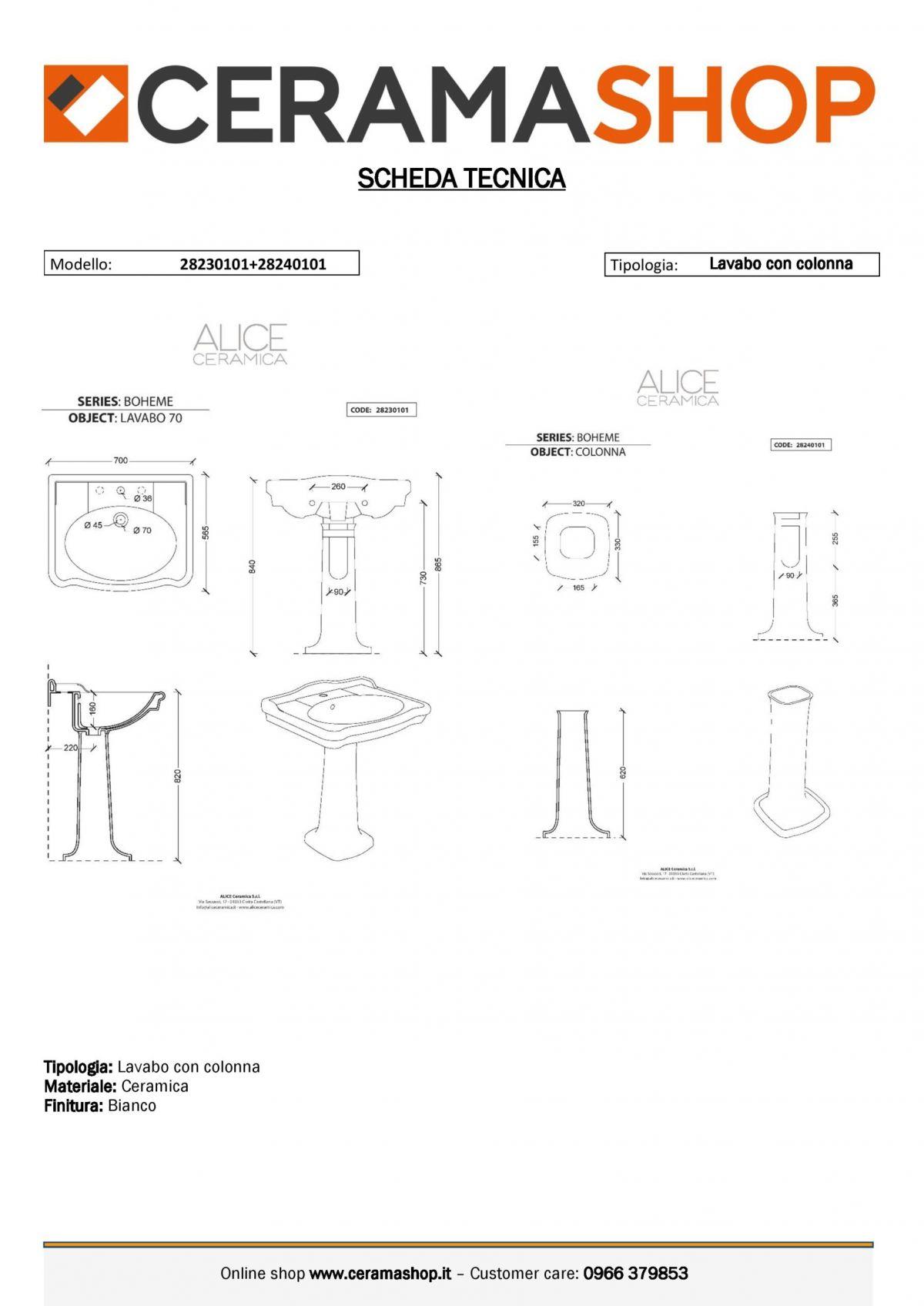 lavabo con colonna boheme 0001 scaled Lavabo con colonna