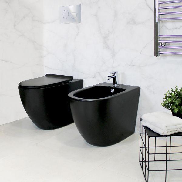 Round Terra Black Ceramashop Store Online di igienico-sanitari ed accessori per il bagno