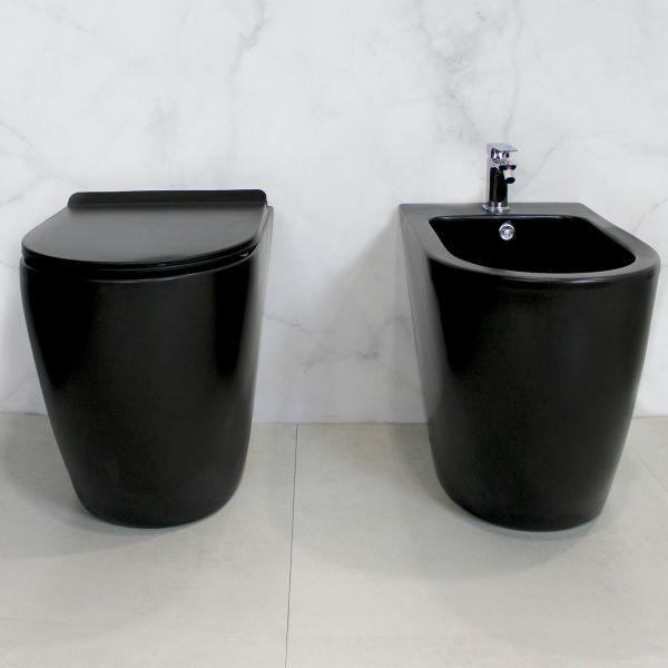 Round Terra Black 2 Ceramashop Store Online di igienico-sanitari ed accessori per il bagno