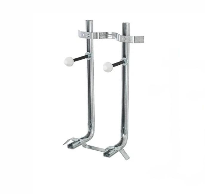 staffa singola Staffa di fissaggio universale in acciaio inox per WC o Bidet Sospesi