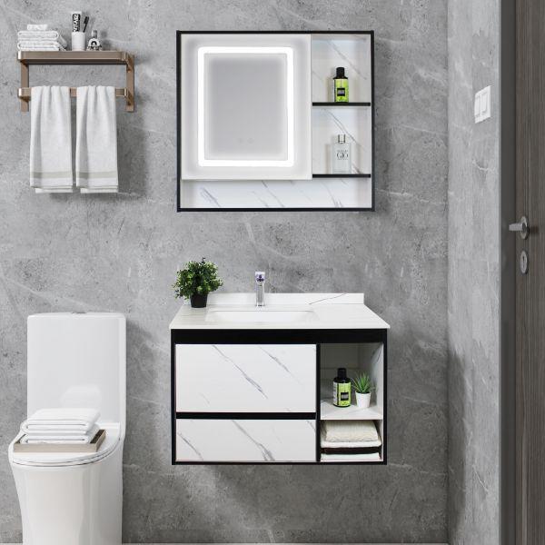 Mobile Bagno sospeso Perugia frontale Ceramashop Store Online di igienico-sanitari ed accessori per il bagno