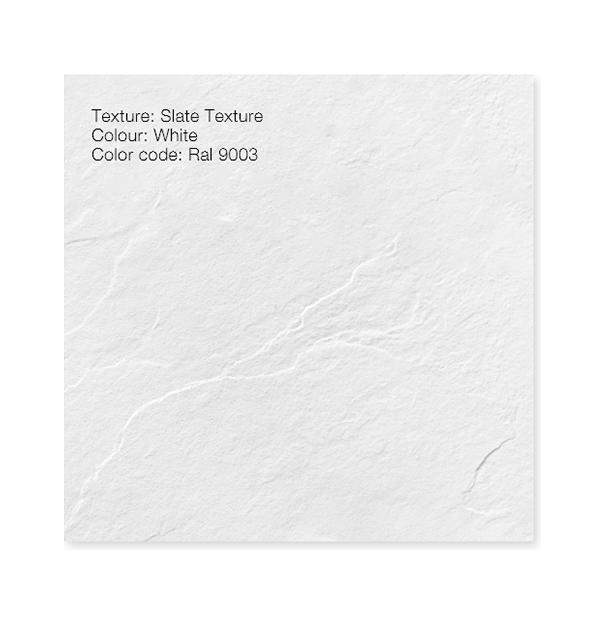 """Piatto doccia Bianco Ral 9003 Piatto doccia rettangolare """"Dolomia"""" in marmogres bianco 80×160 h 2,5 cm riducibile ultraslim effetto pietra"""