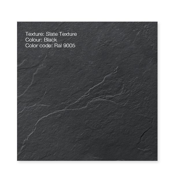 """Piatto doccia ColorRal 9005 Piatto doccia rettangolare """"Dolomia"""" in marmogres nero 80×160 h 2,5 cm riducibile ultraslim effetto pietra"""