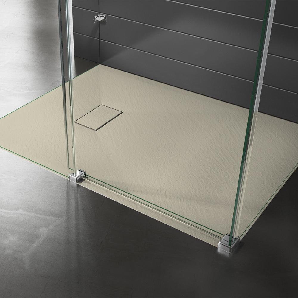 Piatto doccia effpietra beige 2 Piatto doccia rettangolare