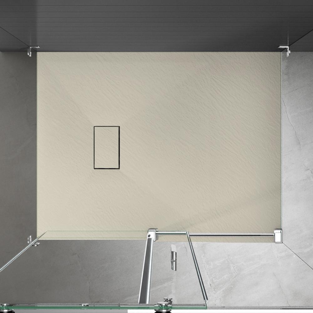 Piatto doccia effpietra beige 5 Piatto doccia rettangolare