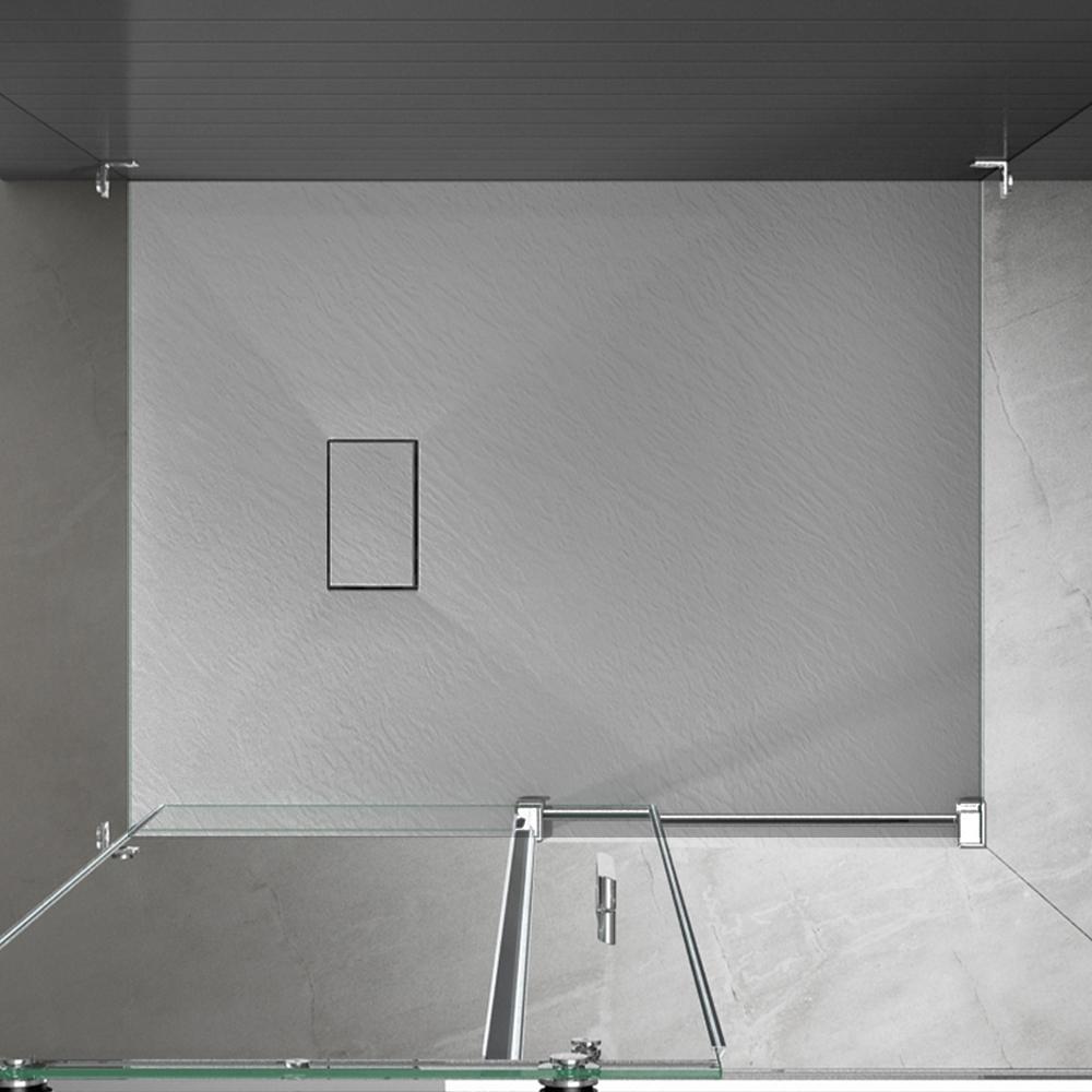Piatto doccia effpietra grigio 5 Piatto doccia rettangolare