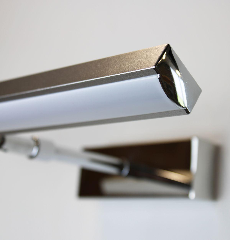 Lampada Led 2 Lampada bagno a LED da muro in alluminio da 40 cm per specchio