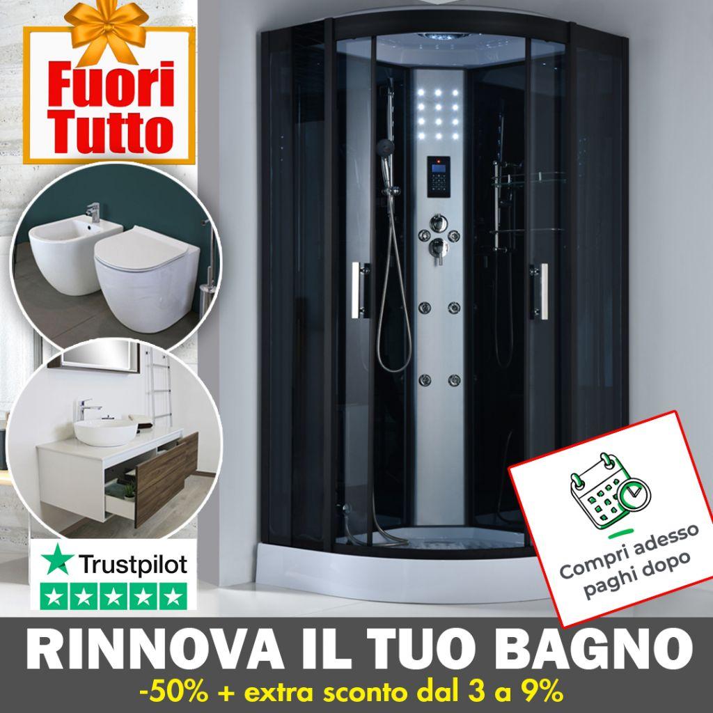 Rinnova il tuo bagno 1 Ceramashop Store Online di igienico-sanitari ed accessori per il bagno