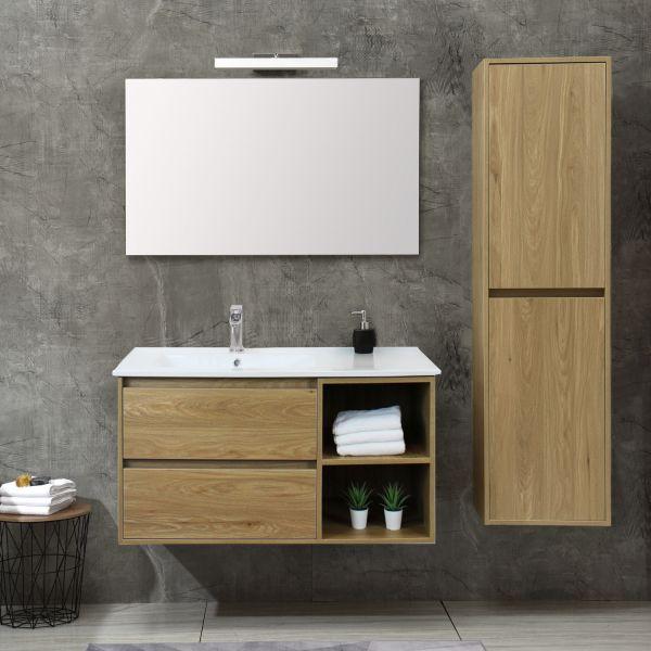 Londra Rovere 100cm 1 Ceramashop Store Online di igienico-sanitari ed accessori per il bagno