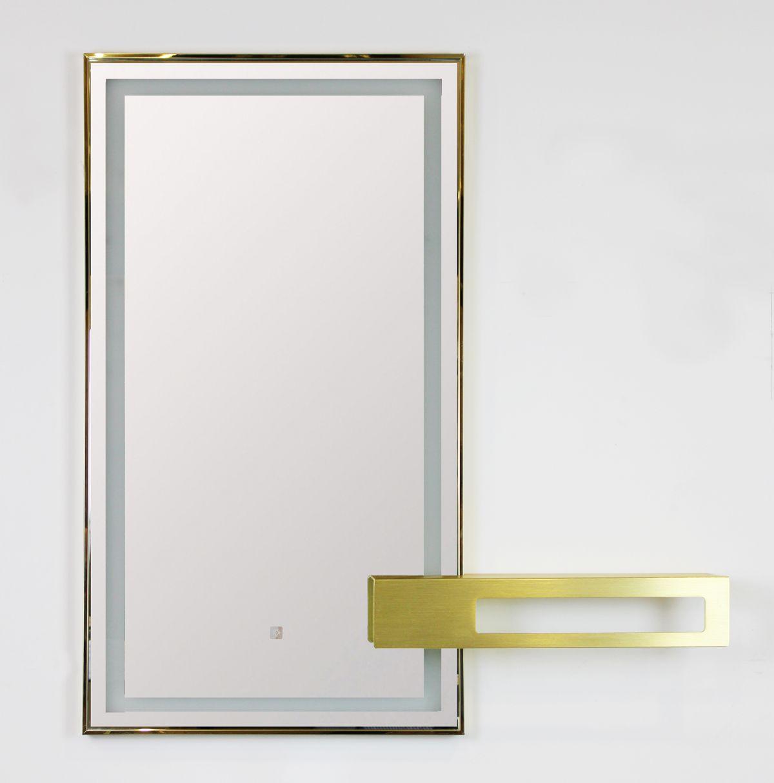 Mobile bagno sospeso ISTAMBUL specchio Mobile bagno Istanbul sospeso da 100 cm color mattone con lavabo specchio e mensola