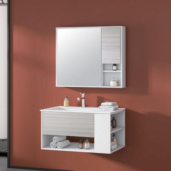 Nassaun mobile bagno sospeso 1 Ceramashop Store Online di igienico-sanitari ed accessori per il bagno