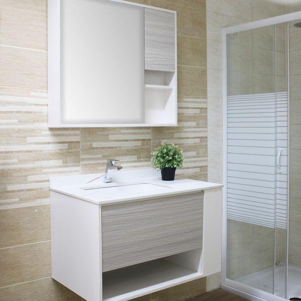 Nassaun mobile bagno sospeso 3 Ceramashop Store Online di igienico-sanitari ed accessori per il bagno