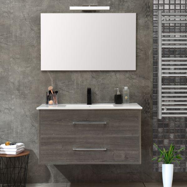mobile 120 senza colonna grigio Ceramashop Store Online di igienico-sanitari ed accessori per il bagno