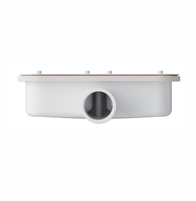 DY611 2 Piletta ispezionabile per piatto doccia in marmogres Topazio, da 100 mm