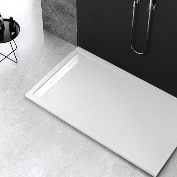 Piatto doccia Mod Topazio Bianco Ceramashop Store Online di igienico-sanitari ed accessori per il bagno
