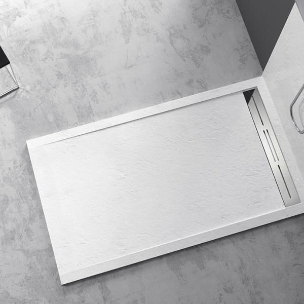 Piatto doccia Mod Topazio 2 Bianco Ceramashop Store Online di igienico-sanitari ed accessori per il bagno