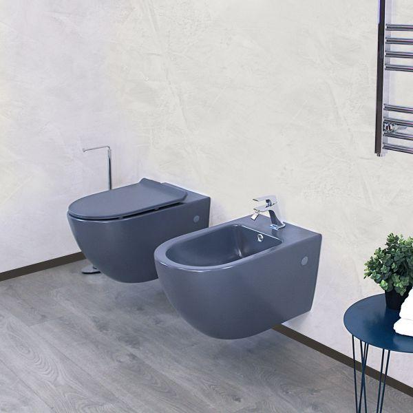 Round sospeso grigio 3 Ceramashop Store Online di igienico-sanitari ed accessori per il bagno