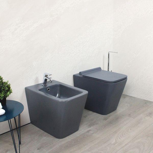 Square laterale grigio Ceramashop Store Online di igienico-sanitari ed accessori per il bagno