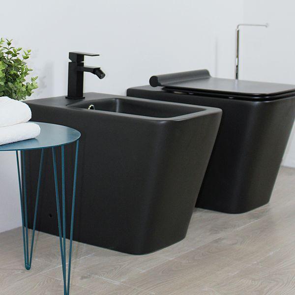 Square terra nero 1 Ceramashop Store Online di igienico-sanitari ed accessori per il bagno
